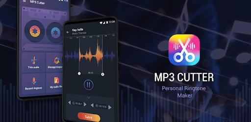Music cutter ringtone maker - MP3 cutter editor pc screenshot