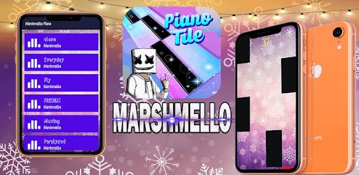Piano Marshmello Magic Tiles pc screenshot