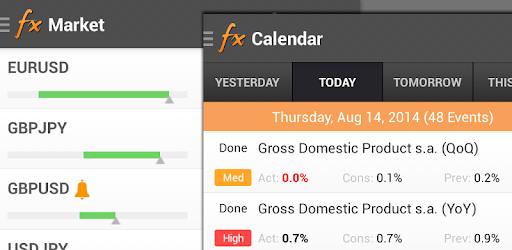 Forex calendar download