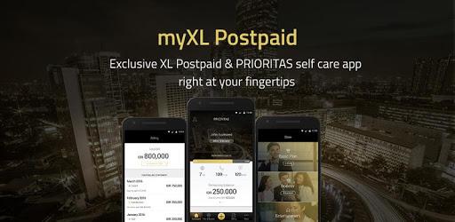 myXL Postpaid pc screenshot