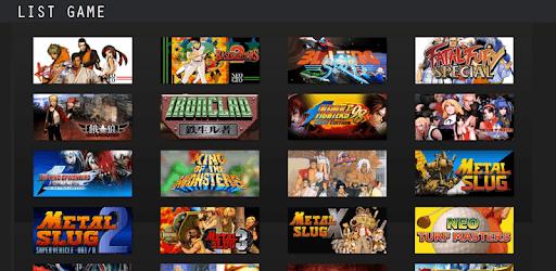 neo geo arcade emulator