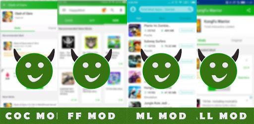 Happymod APK ~ ML COC Legends FF Free Mod App 2019 for PC ...