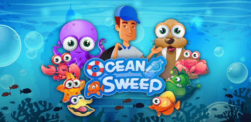 Ocean Sweep: A Fun Match 3 Game for Ocean Cleanup. pc screenshot