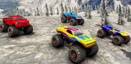 Monster Truck Desert Death Race 3D: Truck Game pc screenshot