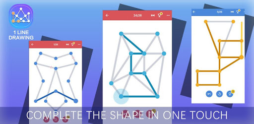 1 Line Drawing: Connect all the Dots pc screenshot