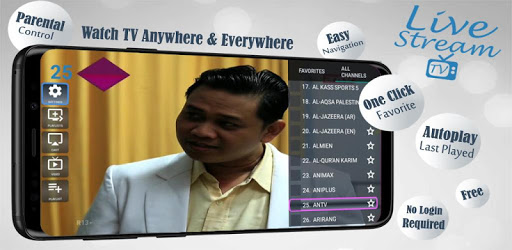 Livestream TV - M3U Stream Player IPTV pc screenshot