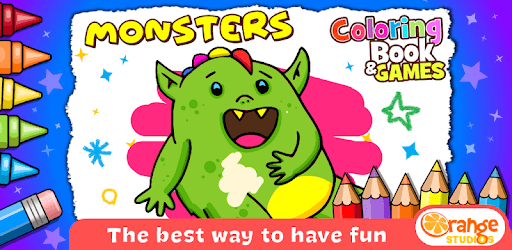 Monsters - Coloring Book & Games for Kids pc screenshot
