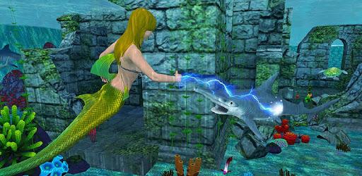 Mermaid Simulator: Underwater & Beach Adventure pc screenshot