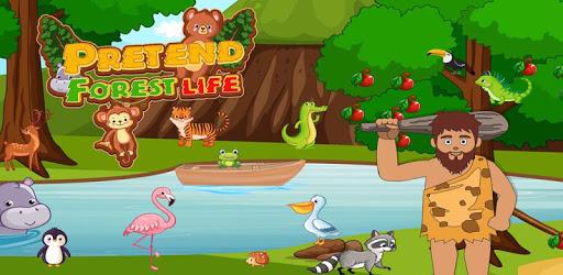 Pretend Forest Life: Explore Wilderness Games pc screenshot