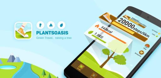 PlantsOasis - Step Counter & Calorie Counter pc screenshot