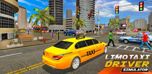 Limo Taxi Driver Simulator : City Car Driving Game pc screenshot
