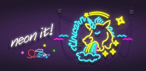 Neon It! - 3D Light Art Puzzle pc screenshot