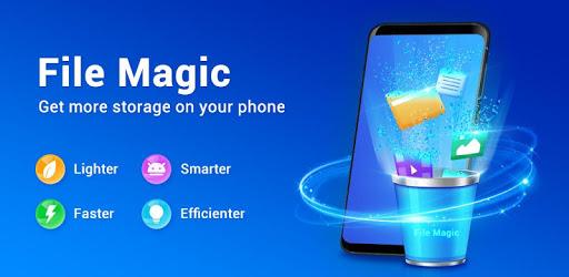 File Magic -JunkFiles, Free up space, VirusCleaner pc screenshot