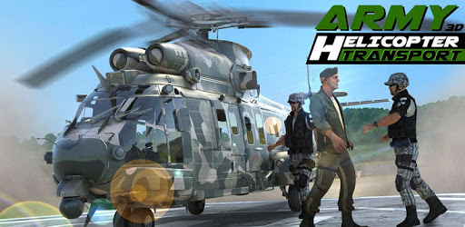 Army Helicopter Transporter 3D pc screenshot