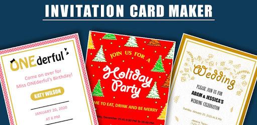 Invitation Card Maker: Ecards & Digital invites pc screenshot