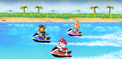 Jetski Paw Puppy Journey Patrol pc screenshot