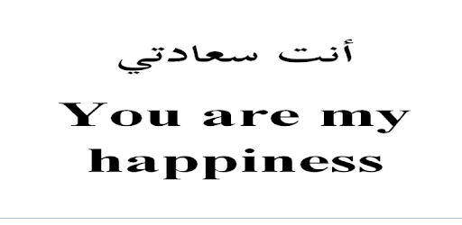Quotes in Arabic and English pc screenshot