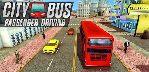 City Bus Passenger Driving pc screenshot