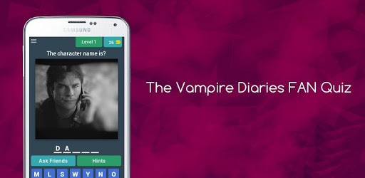 The Vampire Diaries FAN Quiz pc screenshot