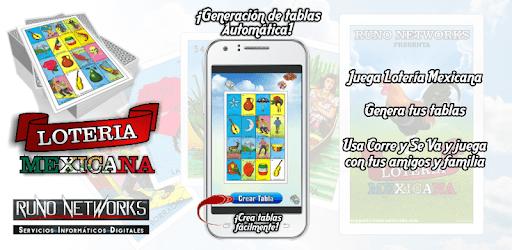 Tablas de Lotería Mexicana pc screenshot