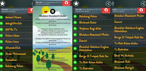 Lagu Anak Muslim & Sholawat Nabi Lengkap pc screenshot