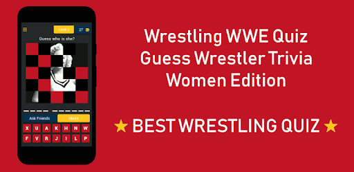Wrestling WWE Quiz — Guess Wrestler Trivia — Women pc screenshot
