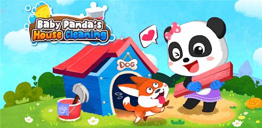 Baby Panda' s House Cleaning pc screenshot