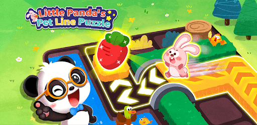 Little Panda's Pet Line Puzzle pc screenshot