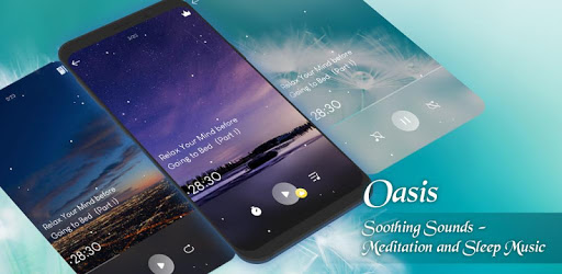 Soothing Music and Guided Meditaiton - Oasis pc screenshot