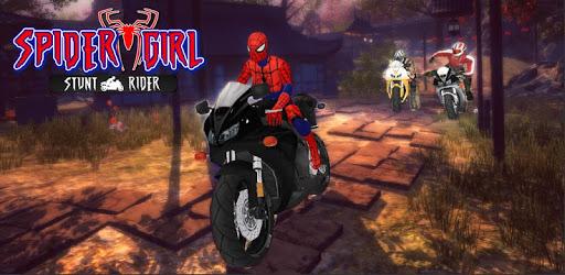 Spider Girl Stunt Rider  Super hero Highway Rider pc screenshot