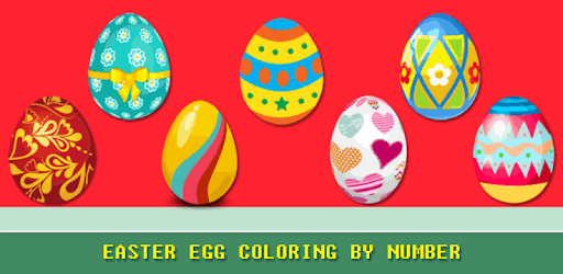 Easter Egg Coloring Game - Color By Number pc screenshot