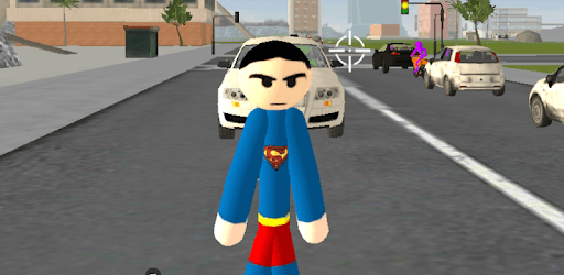 Stickman Superboy  Rope Hero Crime City pc screenshot