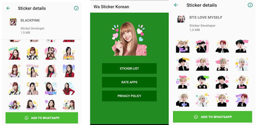 WAStickerApps Korean Idol Sticker for WhatsApp pc screenshot