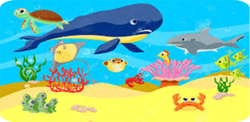 Animals in the Ocean - Nursery pc screenshot