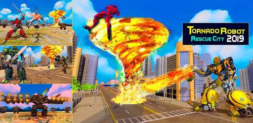 Immortal Superhero Tornado Robot City Rescue 2019 pc screenshot