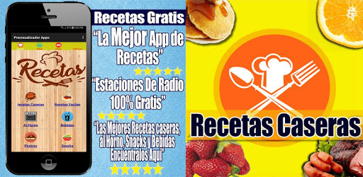 Recetas de Cocina Casera Gratis pc screenshot