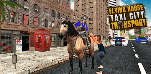 Flying Horse Taxi City Transport pc screenshot