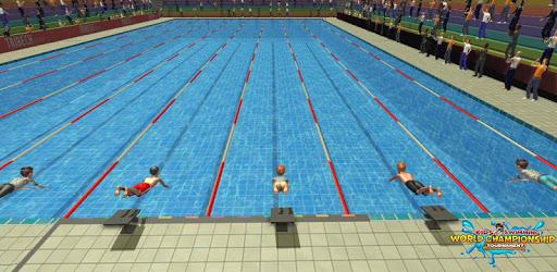Kids Swimming World Championship Tournament pc screenshot