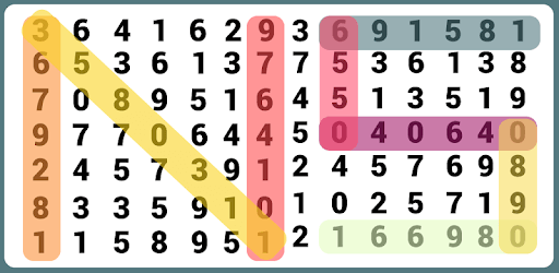 Number Search - Word Search pc screenshot