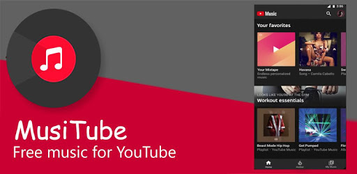 MusiTube 🎶 Play Tube Music & YouTube Music Player for PC - Free