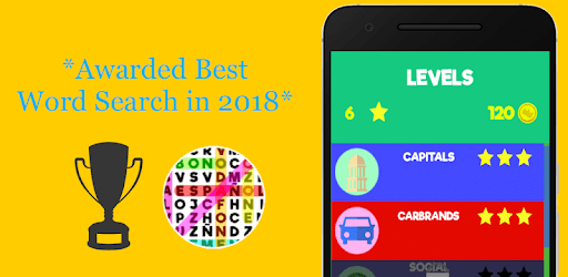 Word Search Game with Levels pc screenshot
