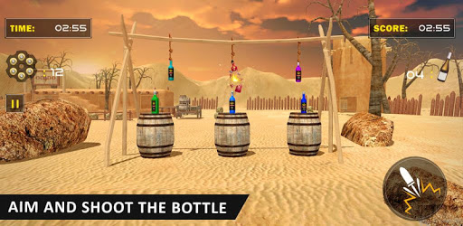 Real Bottle Target Shooting Game 2019 pc screenshot