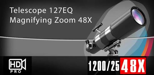 Ultra 48x Zoom Telescope 127EQ Camera pc screenshot