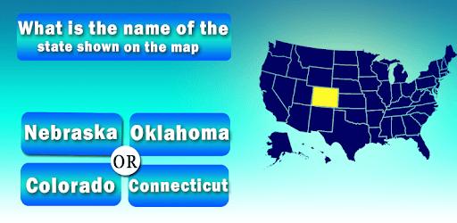 Usa States Quiz pc screenshot