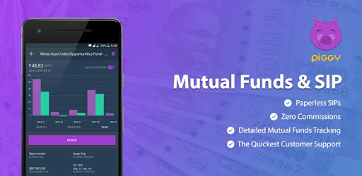 Mutual Fund & SIP Investment app, Save Tax - Piggy pc screenshot