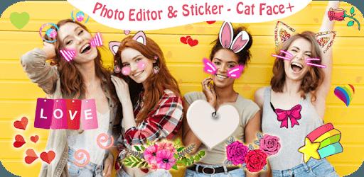 Cat Face - Sticker photo editor & Selfie stickers pc screenshot