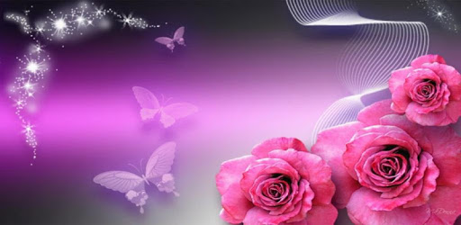 Wonderful Flowers Roses images Gif pc screenshot
