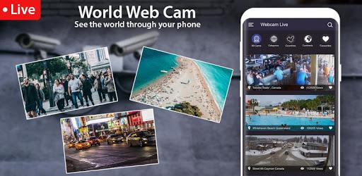World Live Camera Viewer : Webcam, Earth cam pc screenshot
