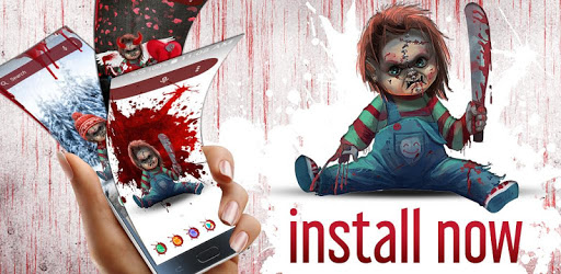 Scary Doll Themed Launcher - Icons and Themes Pack pc screenshot
