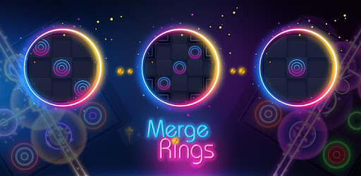 Merge Rings Neon pc screenshot